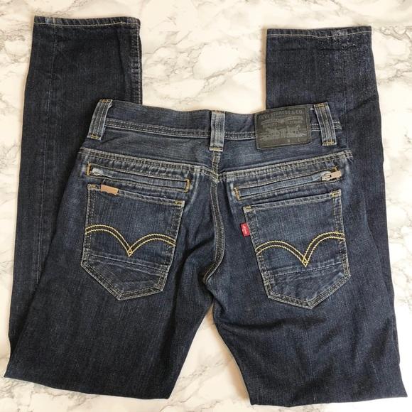 Zipper Slim 29x32 Other Pocket 511 Levi's Back Jeans tZq41x